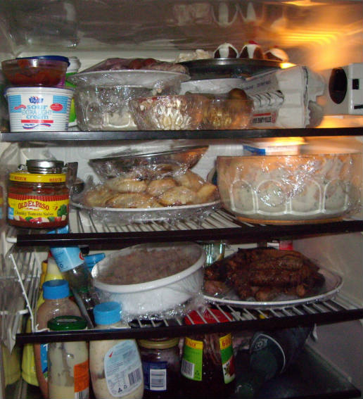 Space saving ideas for the refrigerator